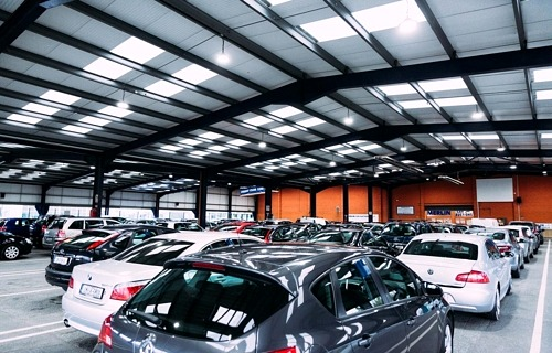 Merlin car auctions lighting