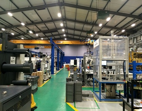 WIPAC warehouse lighting