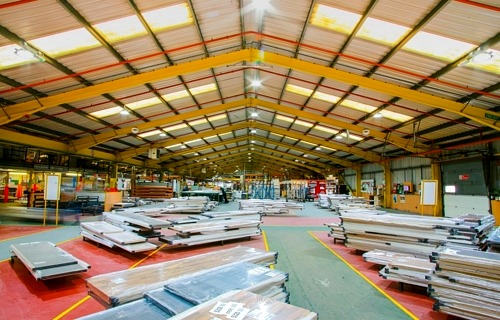 Moores furniture warehouse lighting