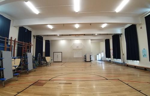 Purley Oaks hall lighting