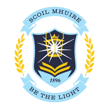 scoil mhuire school logo